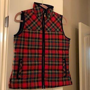 Gorgeous Plaid Puffer Vest